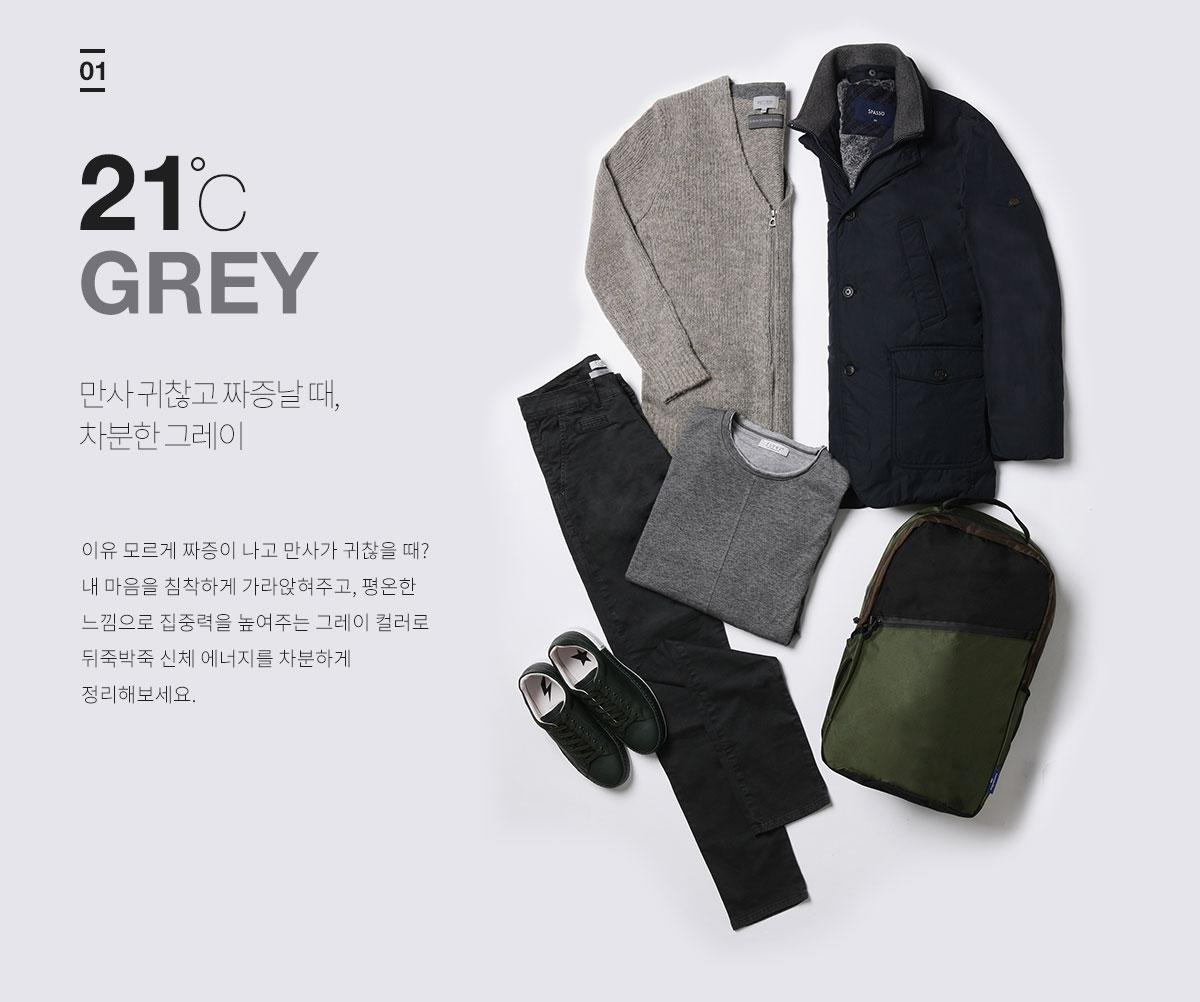 01 21℃ Grey