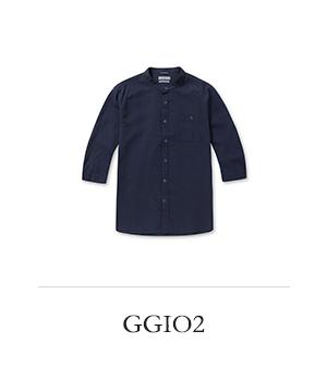 GGIO2 내츄럴 스탠다드 포켓 셔츠