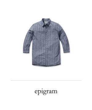 [epigram] 와이드 핀 S/T 7부 셔츠