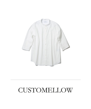 CUSTOMELLOW henly neck 3/4 shirts