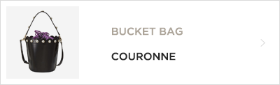 BUCKET BAG SUECOMMABONNIE
