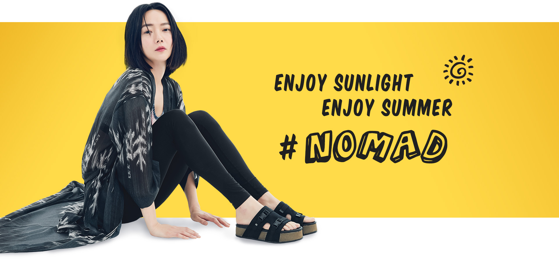 ENJOY SUNLIGHT ENJOY SUMMNER #NOMAD