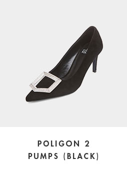 DG1BX18528BLK Poligon 2 pumps(black)