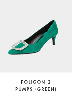 DG1BX18529GRN Poligon 2 pumps(green)