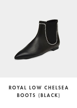 DG3CX18509BLK Royal low chelsea boots(black)