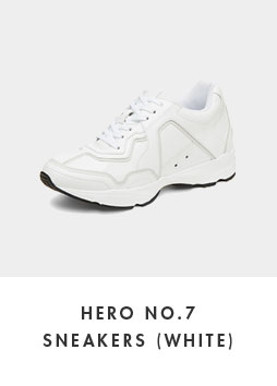 DG4DX18525WHT Hero no.7 sneakers(white)