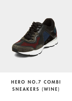 DG4DX18526WIN Hero no.7 combi sneakers(wine)