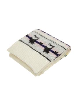 Nordic Chouette Knit Muffler