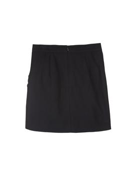 Velvet Ribbon Mini Skirt