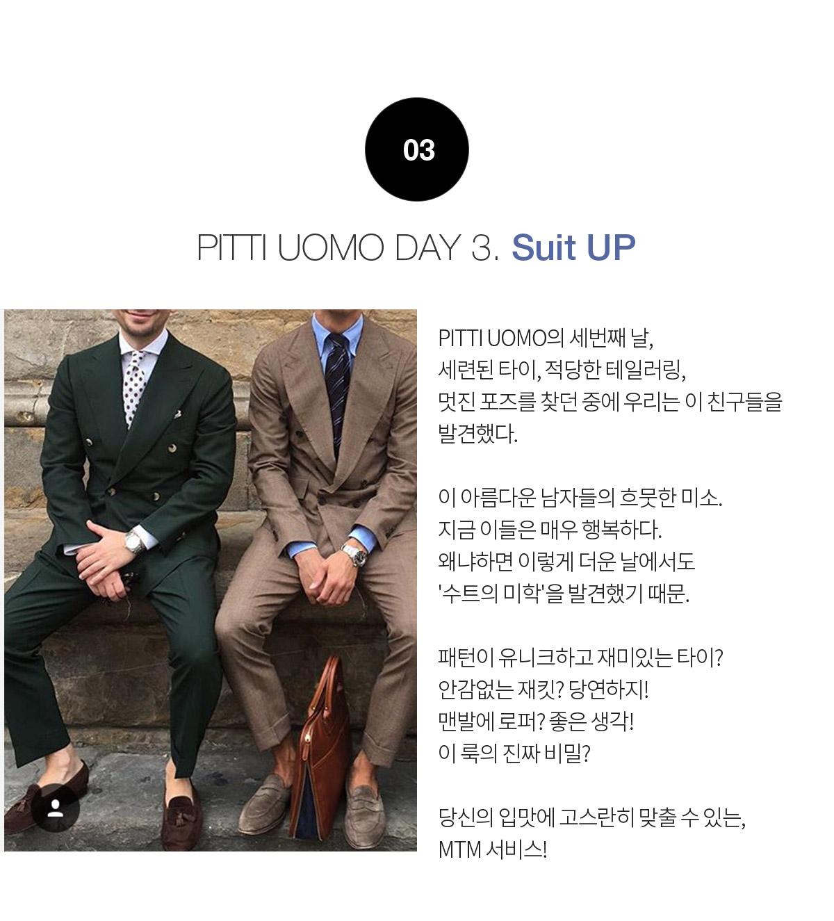 PITTI UOMO DAY 3. Suit UP