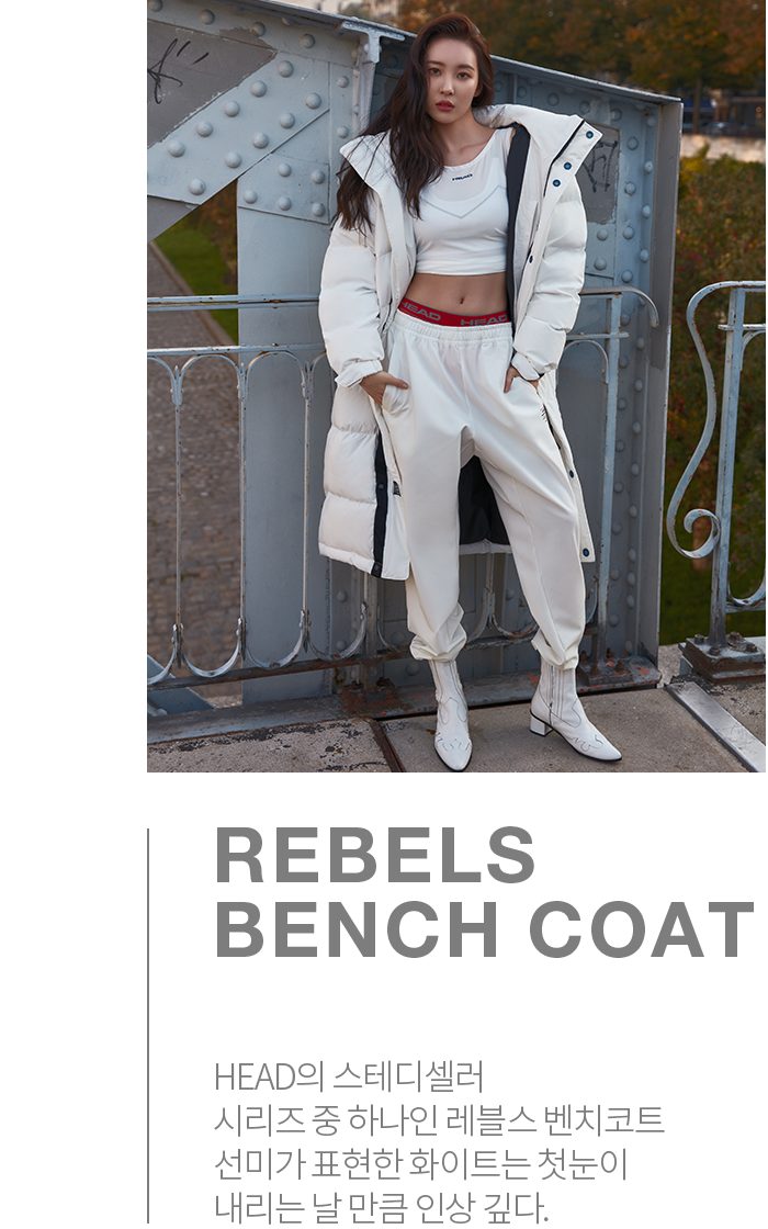 REBELS BENCH COAT